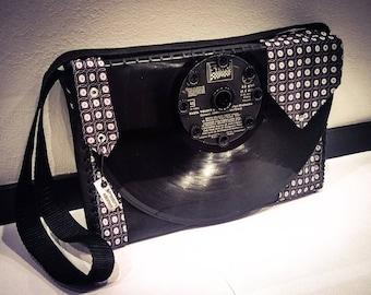 33 RPM Vinyl shoulder bag