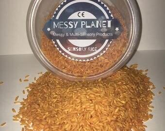 Sensory Rice Orange