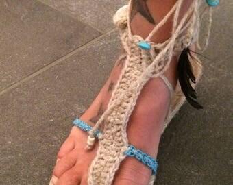 Espandrillos crochet sandals