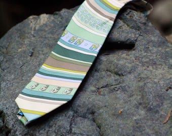 Ocean Blue Five Five Tie