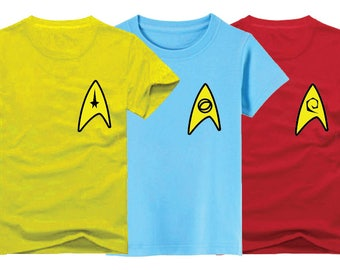 Star Trek T-Shirt for children - available in many sizes and colors