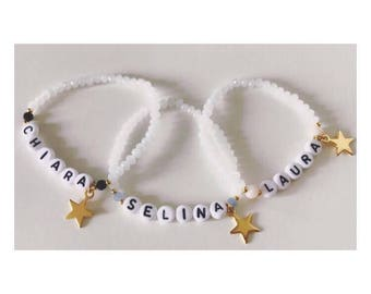 NAME bracelet can be customized
