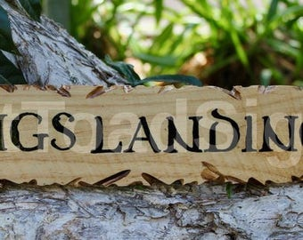 Kings Landing, Game of Thrones, Reclaimed Timber Sign, Hand Painted, Wood Sign, Gift Ideas, Man Cave