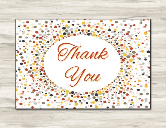 6x4 postcard template - 6x4 thank you card editable template card