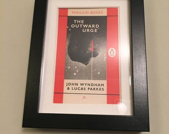Classic Penguin Book cover print- framed - The Outward Urge