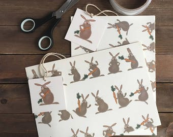 Funny Bunnies Wrapping paper