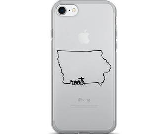 Iowa Roots - iPhone Case (iPhone 7/7 Plus, iPhone 8/8 Plus, iPhone X)