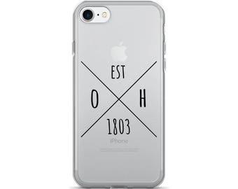 Ohio Statehood - iPhone Case (iPhone 7/7 Plus, iPhone 8/8 Plus, iPhone X)