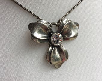 Pilgrim Necklace stunning single flower Danish Design at its best