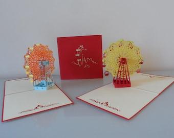 Ferris Wheel Pop up Card