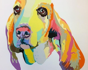 Pet Portrait: Bassett Hound