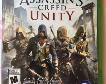 Xbox one game xbox one assassin's creed units ubisoft game