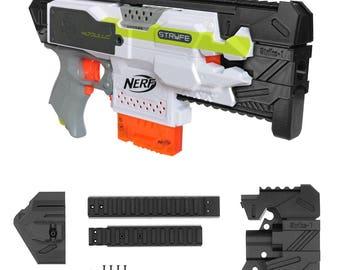 MaLiang 3D Strike 1 Carbine Imitation Kit Black 3D Printing for Nerf STRYFE Modify Toy PL167