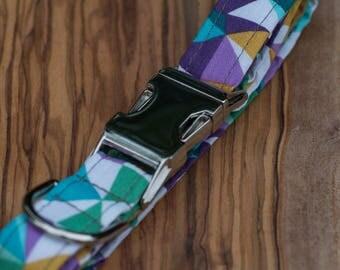 Colourful Geometric Collar