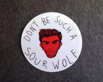 Don't be such a sourwolf Derek - Teen Wolf Sticker