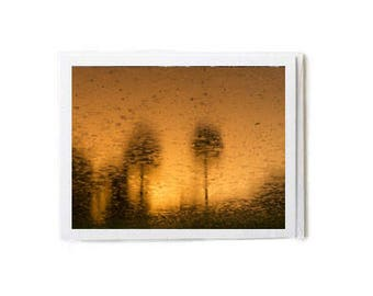 Copper Sunset Notecard