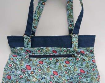 tote bag , Diaper bag , canvas bag , shoulder bag , women bag