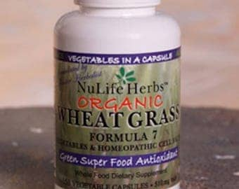 NuLife Herbs Wheat Grass