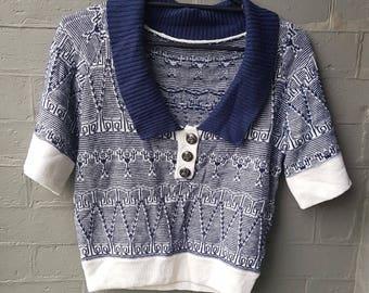 vintage chanel knit top