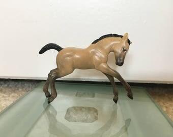Custom Breyer Stablemate Foal to Buckskin