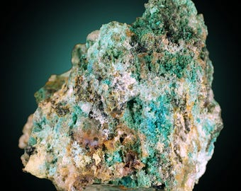Osarizawaite with Cerussite; Silver Hill Mine, Pima Co, Arizona, USA --- minerals and crystals