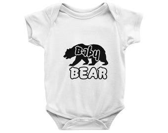 Baby Bear Onesie, Baby Bear Bodysuit, cubs baby onesies, Cute Onesies, Baby Shower gift, Baby Outfit, gender neutral baby onesies