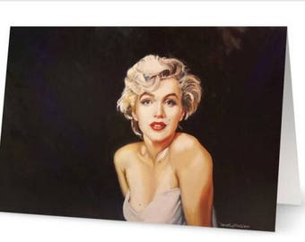 Sweet Marilyn Greeting Cards Box of 8 with Envelopes