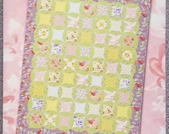 "Quilt Kit, ""There's No Place Like Home"" by Swatches Pattern Co. in Moda ""Sanctuary"" by 3 Sisters. FREE SHIPPING"