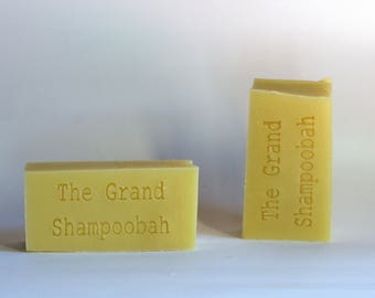 The Grand Shampoobah | Shampoo | moisturising soap | Shampoo in a bar | vegan | ethical | biodegradable
