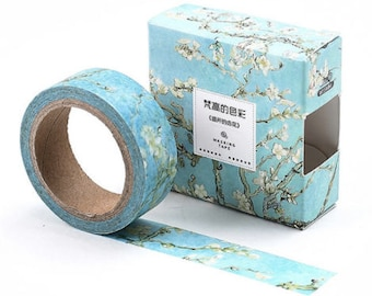 Apricot Flowers Washi Tape/ Masking Tape Roll SALE!!!