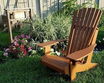 Clay Fudge*Adirondack Chair