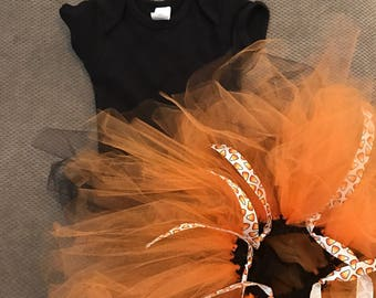 Candy Corn Tutu and Bodysuit