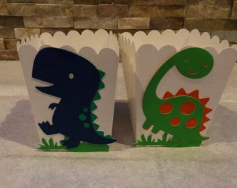 Small Popcorn/Candy Box - Dinosaur Theme Party