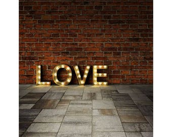 Brick Wall Backdrops Photography Backdrops Love S-2135