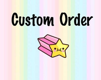 Custom Order, Custom Polymer Clay, Custom Charms, Custom Figures