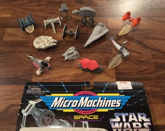 Star Wars - Micro Machines - Ships - 1994