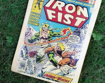 Iron Fist Cover Wall Art