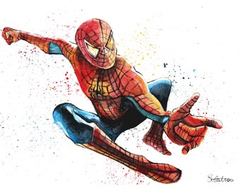 Spider-Man A4