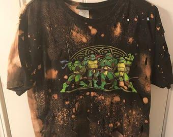 Distressed Ninja Turtle Tee