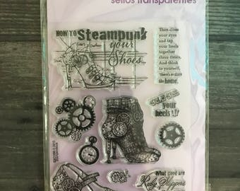 Stampendous Clear Steampunk Stamps