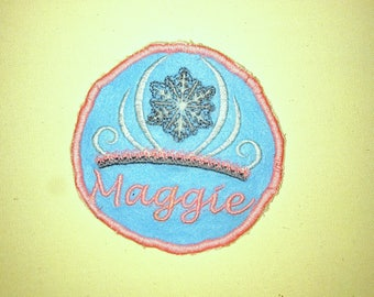 Personalized Princess Patch