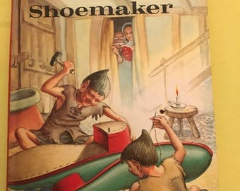 Vintage Ladybird book The Elves and the Shoemaker Well loved tales 606D