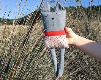 CAT//CAT//Kitty//Plush CAT//cloth doll//Baby Doll