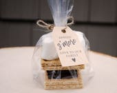 S'more Baby Shower Favor Tags, S'mores Tags, Printable S'mores Favor Tags, Baby Shower Tags, Shower Tags, Instant Download Favors #5
