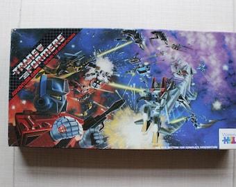 Transformers Adventure Board Game - Defeat the Decepticons Warren 1984