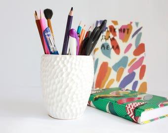 Pen Cup | Succulent Planter | Pen Holder | Cactus Pot | Handmade | Planter Pencil Cup | Pencil Holder | Ceramic Pencil Cup |