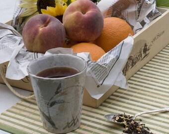 Certified Organic Sunshine Peach Loose Leaf Tea // 4 ounces