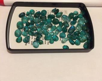 panjshir emerald 75.00 carat 0.5 - 2.1 ct sizes see pictures