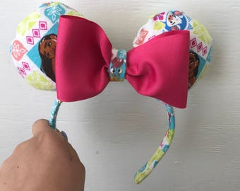 Moana Minnie Mouse ears