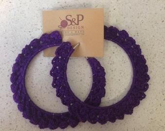 Earrings in crochet - Crochet earrings